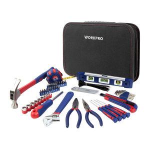 WORKPRO/万克宝 便携式通用工具包组套 W009021 100件 1套