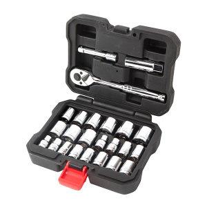 WORKPRO/万克宝 工具盒装套筒组套 W003000 24件 1套