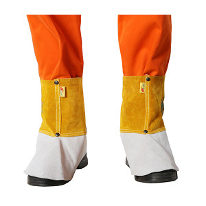 WELDFASS/焊法斯 金黄色脚罩 31-2101 均码 1副