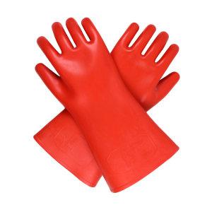 ANQUAN/安全 20Kv(B)绝缘手套 S020(B) 红色 360±15mm 交流电压10000V 散装 1付