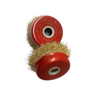 JSB/晶士霸 碗型钢丝轮 100×16mm 红碗 1只