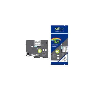 EDJD/E代经典 标签机色带 e-TZe-231 适用兄弟标签机色带/12mm白底黑字/TZe-231 1个