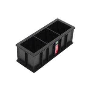 ZKH/震坤行 混凝土抗压三联试模盒 100×100×100mm 1只