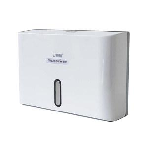 SAFEWARE/安赛瑞 商用壁挂式塑料擦手纸盒 10386 253×200×96mm 1个 1盒