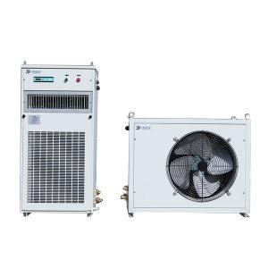 TAIRUIZE/泰瑞泽 高温空调 JTR-40b 室内机560×340×1200mm 室外机900×480×760mm 连接管5米 380V 50Hz R142b 制冷量4kW 温度控制20~35℃ 1台