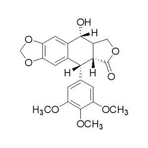 ALADDIN/阿拉丁 鬼臼毒素 P105536-500mg CAS号518-28-5 98% 500mg 1瓶