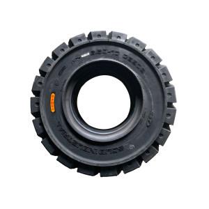 ZHENGXIN/正新 实心轮胎 6.50-10 含轮網 适用内燃叉车 花纹C8909 轮辋压好出货 1套
