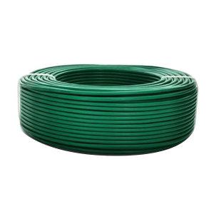 JIANGNAN/江南 铜芯聚氯乙烯绝缘连接软电线 RV-450/750V-1×4 绿色 100m 1卷