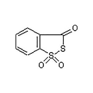 ALADDIN/阿拉丁 3H-1,2-苯并二硫醇-3-酮1,1-二氧化物 H157193-250mg CAS号66304-01-6 >98%(HPLC) 250mg 1瓶