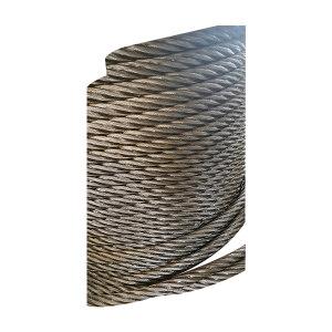 ZKH/震坤行 圆股钢丝绳 6*37+FC-28mm 涂油光面 1km 1卷
