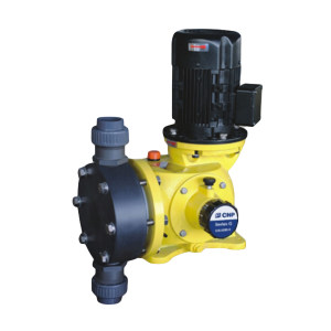 CNP/南方泵业 G系列机械隔膜计量泵 GB0700PQ1MNN 流量656LPH 功率0.55kW 接口25mm 泵头材质PVC 1台