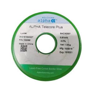 ALPHA/阿尔法 无铅锡条 SACX0307  PLUS 20kg 1箱