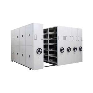 ZKH/震坤行 档案密集柜 2300×560×900mm 格板厚25mm 双面存放 层载90kg 1组