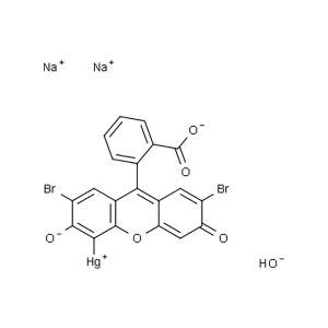 MACKLIN/麦克林 2,7-二溴-4-羟汞基荧光红双钠盐 M875673-5g CAS号129-16-8 结晶 5g 1瓶