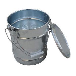 ZKH/震坤行 水泥留样桶 20×25cm 铁皮 1只