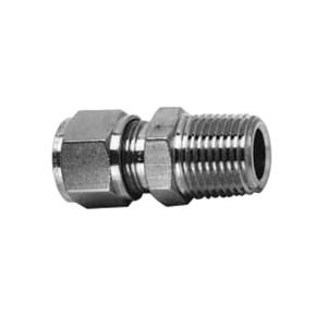 "HOKE 316不锈钢外热电偶接头 2CMT2 快插接口7/16"" 外螺纹7/16"" 接管外径1/8"" 1个"