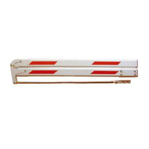 JINANXING/锦安行 180度折叠杆 JCH-DZG-ZD 红白色 3m 1个