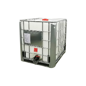ZKH/震坤行 吊装式IBC吨桶 1000L-DN150-W-T 1.2×1×1.15m 白色 灌装口 透气盖 1个