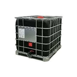 ZKH/震坤行 IBC吨桶 1000L-DN150-BLK-M 1.2×1×1.15m 避光黑色 灌装口 密封盖 1个
