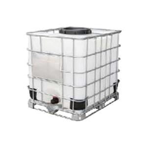 ZKH/震坤行 IBC吨桶 1000L-DN450-W-M 1.2×1×1.15m 白色 灌装口 密封盖 1个