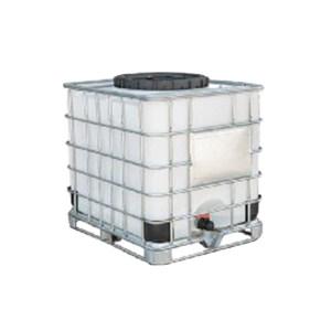 ZKH/震坤行 IBC吨桶 1000L-DN650-W-M 1.2×1×1.15m 白色 灌装口 密封盖 1个