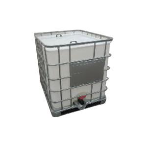 ZKH/震坤行 IBC吨桶 1000L-W-M 1.2×1×1.15m 白色 灌装口 敞口密封盖 1个