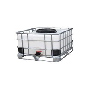 ZKH/震坤行 IBC吨桶 500L-DN450-W-M 1000×650×1150mm 白色 灌装口 密封盖 1个