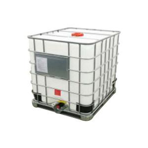 ZKH/震坤行 IBC吨桶 1200L-DN150-W-M 1.2×1×1.35m 白色 灌装口 密封盖 1个