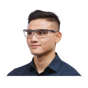 WORKSAFE 安全近视防护眼镜 Steda II 含平光镜片 1副