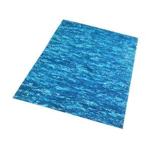 UNITEX/寰泰 中压石棉橡胶板 UP7100/5 厚5mm 宽1.5m 长4.1m 蓝色 1片