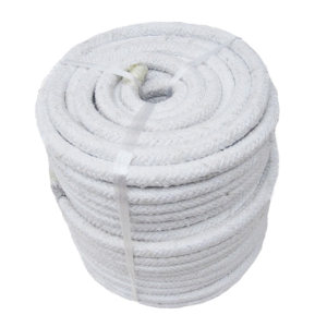 UNITEX/寰泰 陶瓷纤维编织圆绳玻纤增强 CR2000G/38-10 38mm×10m 6.23kg 1卷