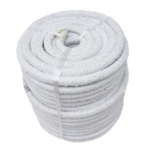 UNITEX/寰泰 陶瓷纤维编织圆绳玻纤增强 CR2000G/80-5 80mm×5m 12.56kg 1卷