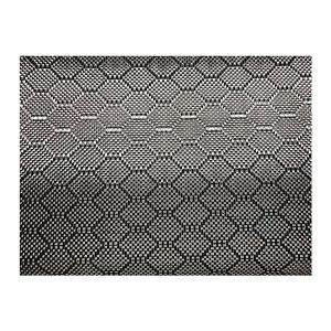 UNITEX/寰泰 碳纤维提花布 黑色 UT-PT-HX280/1.5-25 0.3mm×1.5m×25m 10.5kg 蜂窝纹 1卷