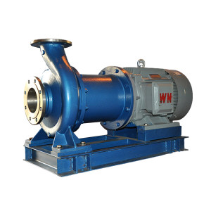 SOUTH/南方 NMQ无泄漏磁力泵(直联式) NMQ32-20-160 额定流量3.2m³/h 接口DN32×DN20 额定扬程20m 304不锈钢泵体 380V 转速2900RPM 防爆电机 1台