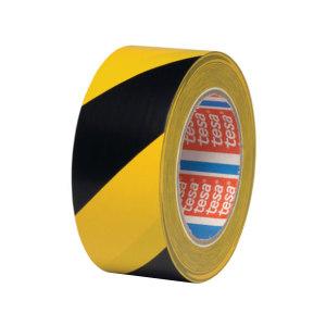 TESA/德莎 地面标识胶带 4169 黄色+黑色 0.18mm×1280mm×33m 1支