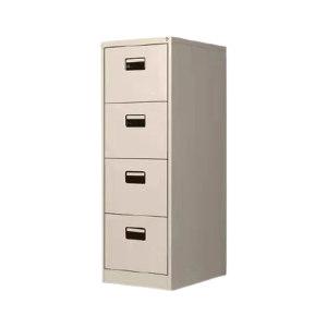 LUOKEFEILE/洛克菲勒 黑拉手四斗卡箱 4857648 尺寸460×620×1330mm 白色 1个