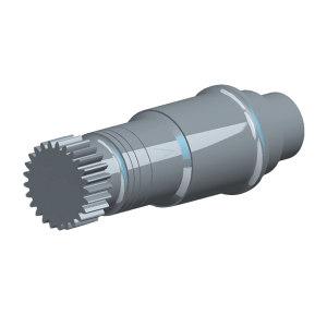 CSIC/重齿 中间轴 JLX50S 1件