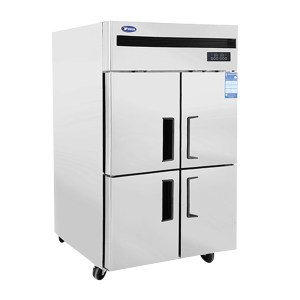 YINDU/银都 四门风冷冷冻冰箱 QBF6151 1200×750×1960mm 工作温度-12~-18℃ 1台