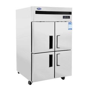 YINDU/银都 四门风冷竖隔双温冰箱 QBF6152 1200×750×1960mm 工作温度-18~-12℃/-2~8℃ 1台