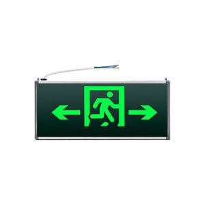 PINASTER/兀拿斯特 纳米板消防应急指示灯 M-BLZD-1LROEⅠ5WCBF 安全出口 方向双向 单面 M3523 1个