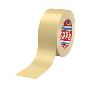 TESA/德莎 耐温160℃高性能遮蔽纸胶带 4302 0.17mm×12mm×50m 米白色 1卷