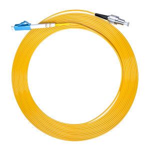 FIBERHOME/烽火通信 单模单芯光纤跳线 LC-FC-2M 黄色 1条