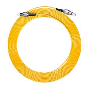 FIBERHOME/烽火通信 单模单芯光纤跳线 FC-FC-1M 黄色 1条