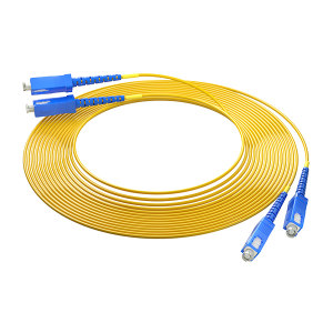 FIBERHOME/烽火通信 单模双芯光纤跳线 SC-SC-20M 黄色 1条