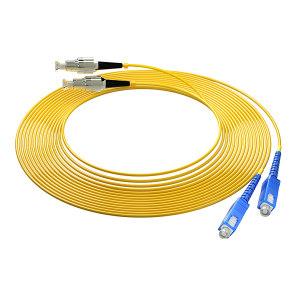 FIBERHOME/烽火通信 单模双芯光纤跳线 SC-FC-5M 黄色 1条