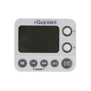 I-QUIP/芯硅谷 两通道计时器 D6665-02-1EA 具有倒计时功能/秒表功能 产品92×79×21mm 屏幕60×40mm 1个