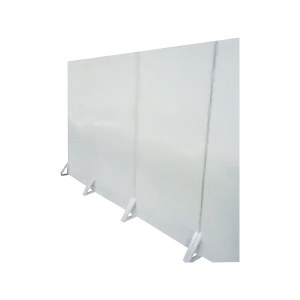 ZKH/震坤行 挡板 930×400×2450mm 表面喷灰色漆 骨架使用30×30mm方管焊接 板面使用1mm厚钢板雨骨架焊接 1个