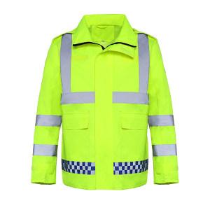ABS/安博世 反光雨衣 SYY-2028 2XL 荧光黄 1件