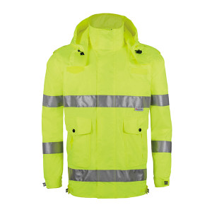 ABS/安博世 反光雨衣 SYY-2009 XL 荧光黄 1件