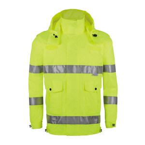 ABS/安博世 反光雨衣 SYY-2009 3XL 荧光黄 1件